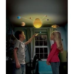 Светеща слънчева система с...