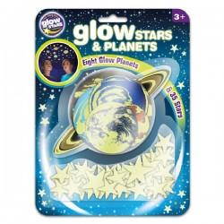 Светещи звезди и планети