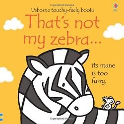 That's not my zebra...