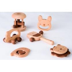 Бебешки комплект от дървени...