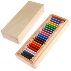 Цветни плочки на Монтесори
