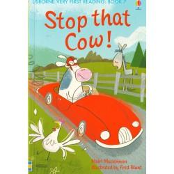 """STOP THAT COW! """"Usborne..."""