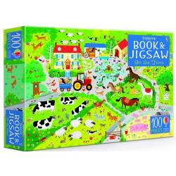 Book and Jigsaw On the Farm